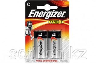Элемент питания LR14 С Energizer MAX  Alkaline Акция 2 штуки в блистере, фото 2