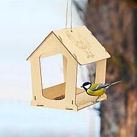Кормушка для птиц сборная Петушок 24 × 30 × 26 см