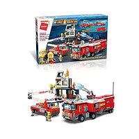 Конструктор Qman Fire Rescue 2810 Пожарные службы