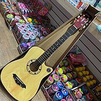 Детская настоящая гитара 6 струн