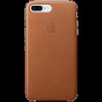 Оригинальный чехол кожаный IPhone 8 Plus / 7 Plus Leather Case - Saddle Brown