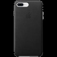 Кожаный чехол IPhone 8 Plus / 7 Plus Leather Case - Black
