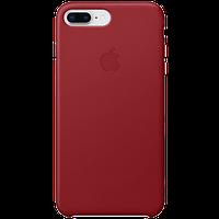 Кожаный чехол IPhone 8 Plus / 7 Plus Leather Case - (PRODUCT)RED