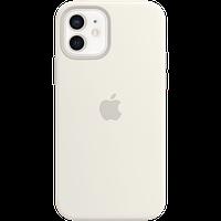 Силиконовый чехол MagSafe для IPhone 12 | 12 Pro Silicone Case with MagSafe - White