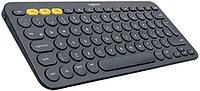 LOGITECH Bluetooth Keyboard K380 Multi-Device - INTNL - Russian Layout - DARK GREY