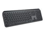 LOGITECH MX Keys Advanced Wireless Illuminated Keyboard-GRAPHITE-RUS-2.4GHZ/BT-INTNL