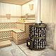 Печь для бани ДИОНИС-24, дверца со стеклом (Дионис) 12 - 24 м3, фото 5