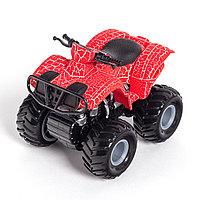 Инерционный внедорожник 12см  X Game kids  X7662  Серия OFF-ROAD Красный кузов