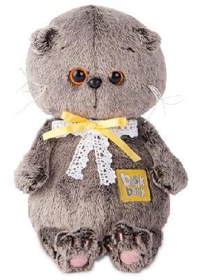 Кот Басик BABY в комплекте с детским пледом 100*80 мягкая игрушка