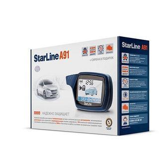 Сигнализация автомобильная StarLine A91
