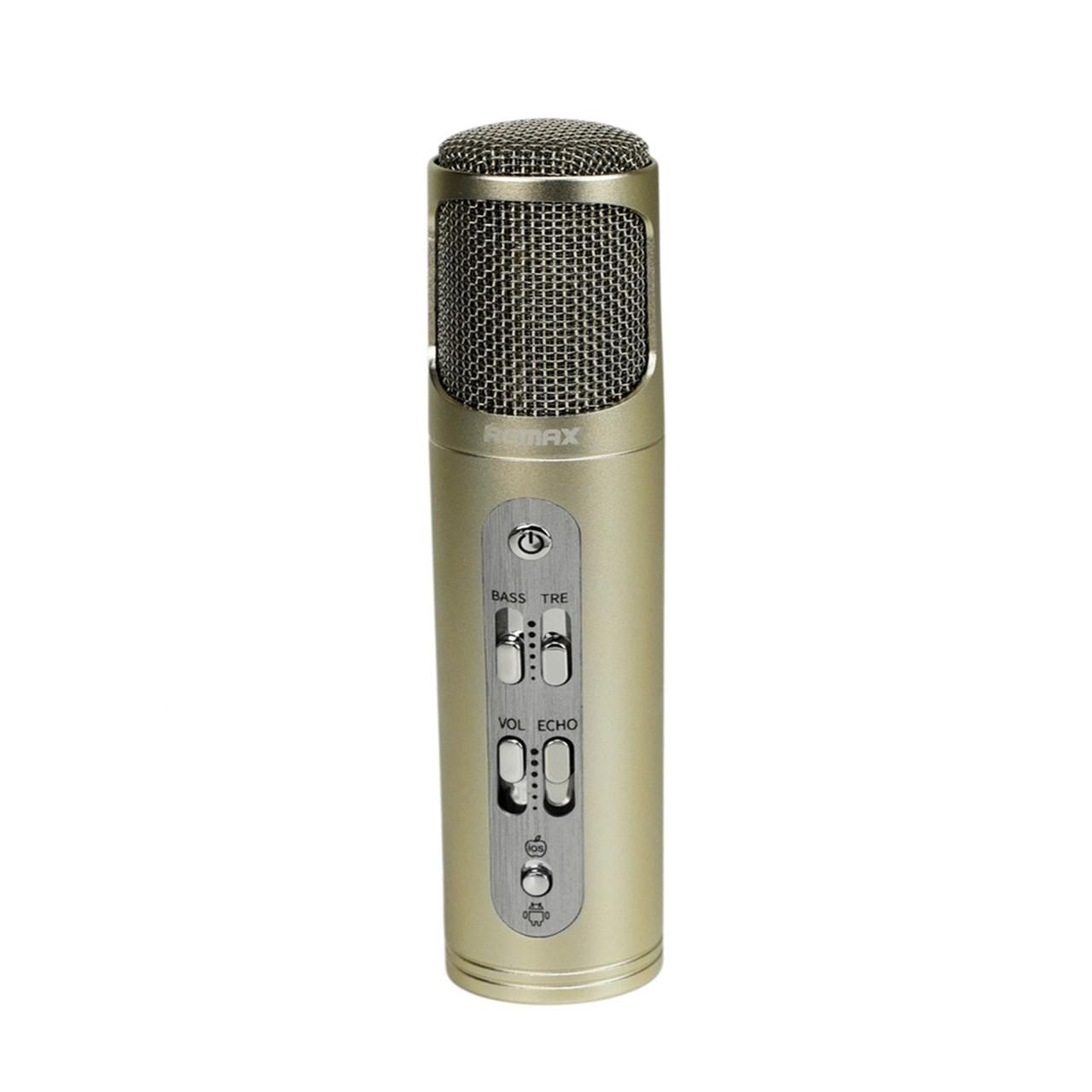Микрофон Remax Singsong RMK-K02 Gold
