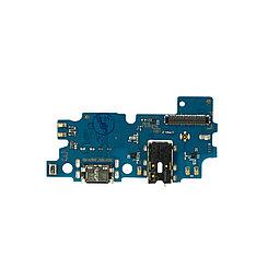 Нижняя плата Samsung Galaxy A30 с коннектором заряда и гарнитуры
