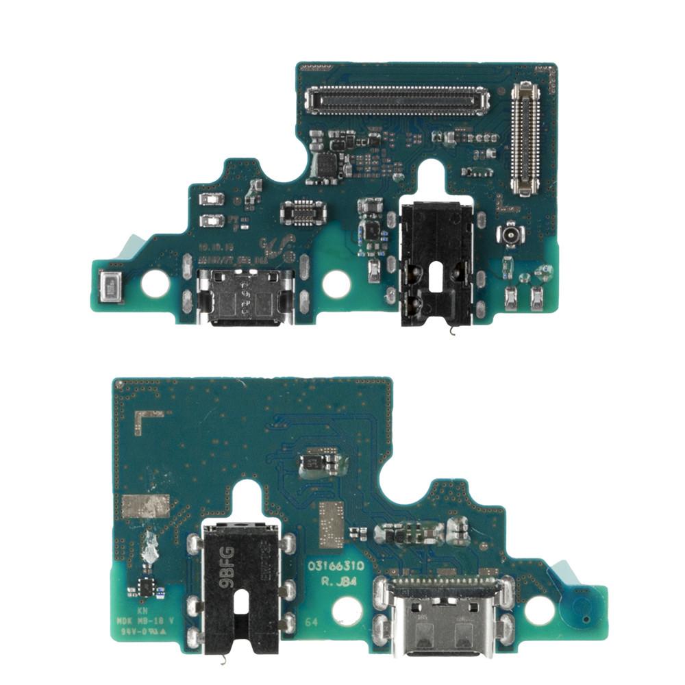 Нижняя плата Samsung Galaxy A51 A515 с коннектором заряда и гарнитуры