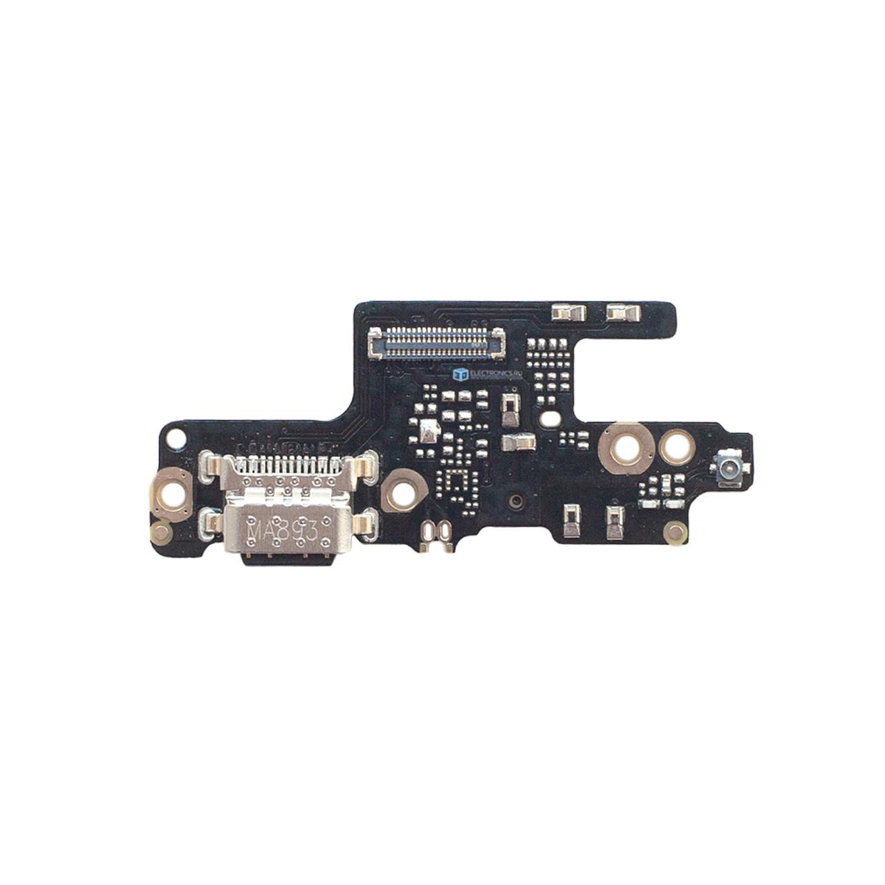 Нижняя плата Xiaomi Redmi Note 7 с коннектором заряда