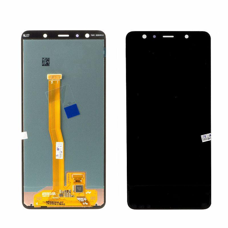 Дисплей Samsung Galaxy A7 (2018) A750 в сборе Service Pack, Black