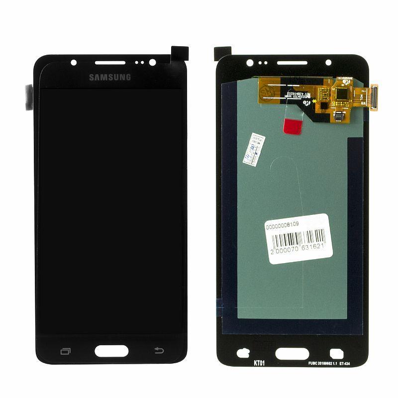 Дисплей Samsung Galaxy J5 (2016) J510 Oled в сборе Black (26)