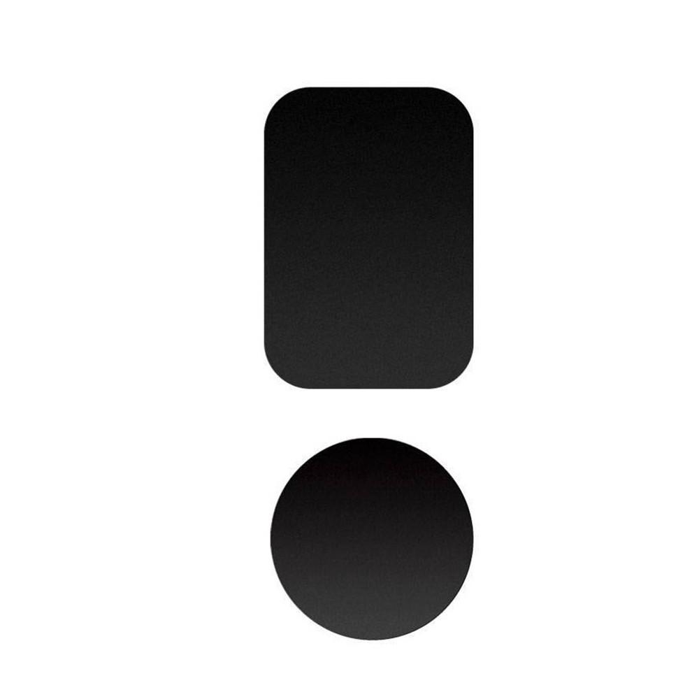 Пластина металлическая для магнитного держателя, Black