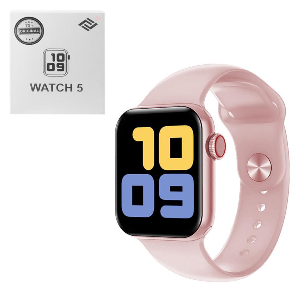 Смарт-часы T5+, Pink