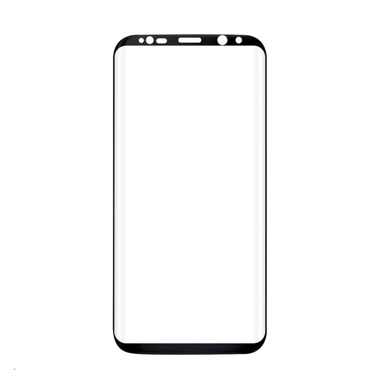 Стекло Samsung Galaxy S8 G950 Black (57)