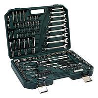 Набор инструментов в кейсе TUNDRA, автомобильный, CrV, 137 предметов