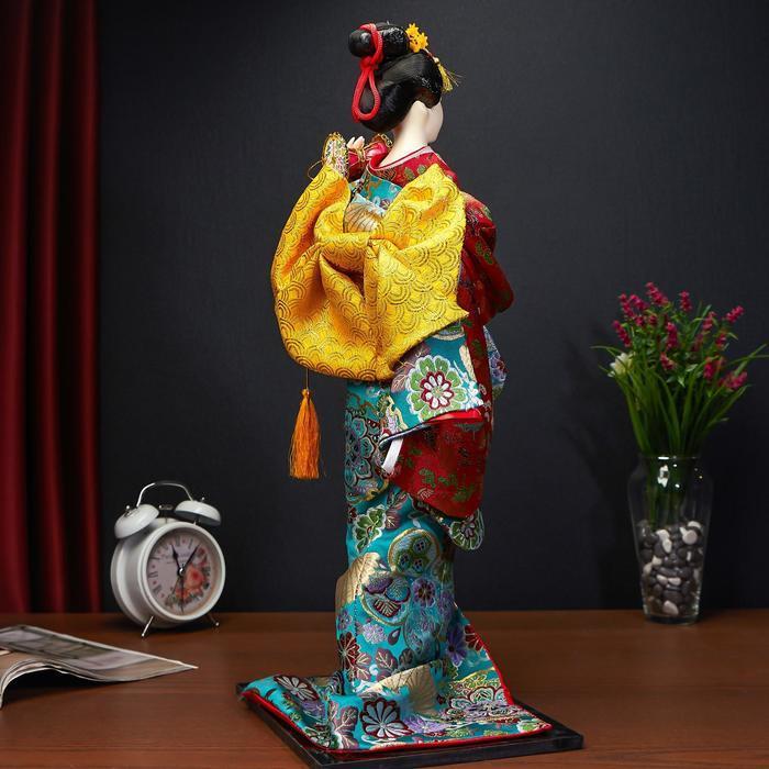 """Кукла коллекционная """"Японская танцовщица"""", МИКС - фото 3"""