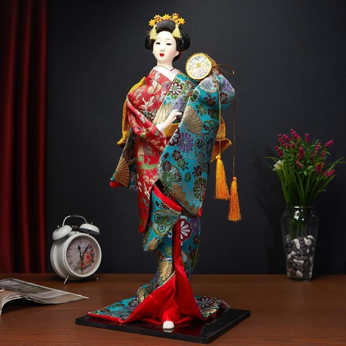 """Кукла коллекционная """"Японская танцовщица"""", МИКС - фото 6"""