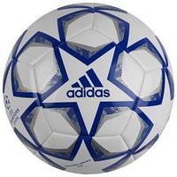 Мяч футбольный ADIDAS Finale 20 Club, размер 4, TPU, 12 панелей, машинная сшивка, белый/синий