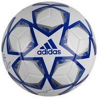 Мяч футбольный ADIDAS Finale 20 Club, размер 5, TPU, 12 панелей, машинная сшивка, белый/синий