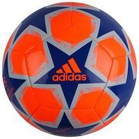Мяч футбольный ADIDAS Finale 20 Club, размер 4, TPU, 12 панелей, машинная сшивка, оранжевый/синий