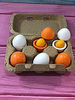 Детская игра Деревянный набор куриных яиц