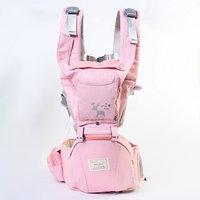 Рюкзак-кенгуру/хипсит 'Олень', цвет розовый