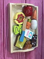 Детская игра Деревянный набор «Вкусный завтрак»