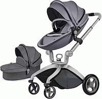Коляска Hot mom F022 серый