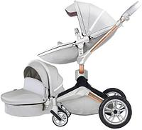 Коляска Hot mom F023 серый