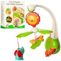 Развивающая игрушка CribTOY 4 в 1 musical crib mobile and soother