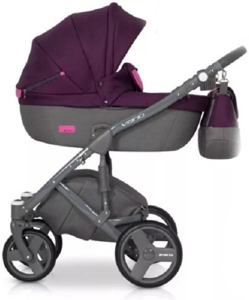 Коляска Riko 3 в 1 Vario 04 Purple фиолетовый