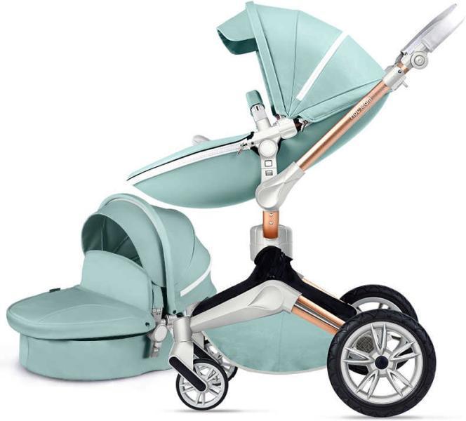 Коляска Hot Mom F023 синий