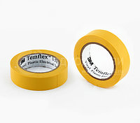 Изолента жёлтая TEMFLEX 1300E 18мм*9,1м