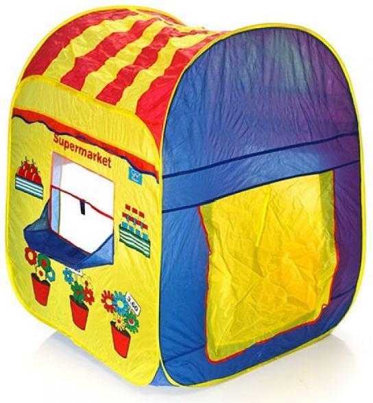 Детская игровая палатка TentSeries 2 в 1 Почта-Гипермаркет 8063