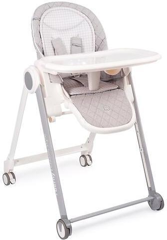 Стульчик  для кормления Happy Baby Berny Basic светло серый