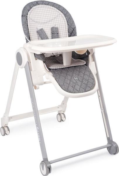 Стульчик  для кормления Happy Baby Berny Basic темно-серый