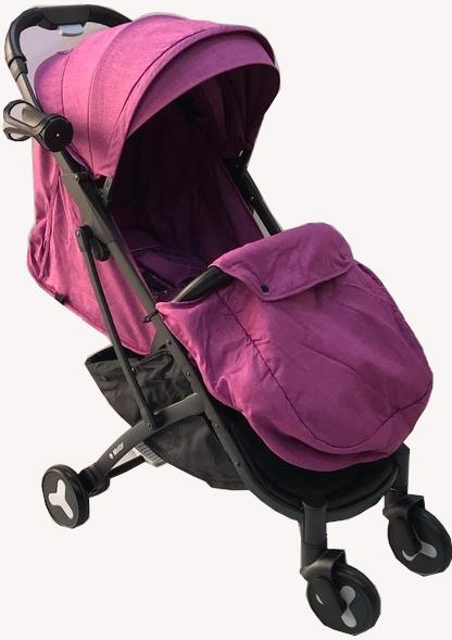 Коляска MSTAR Baby Grace фиолетовый
