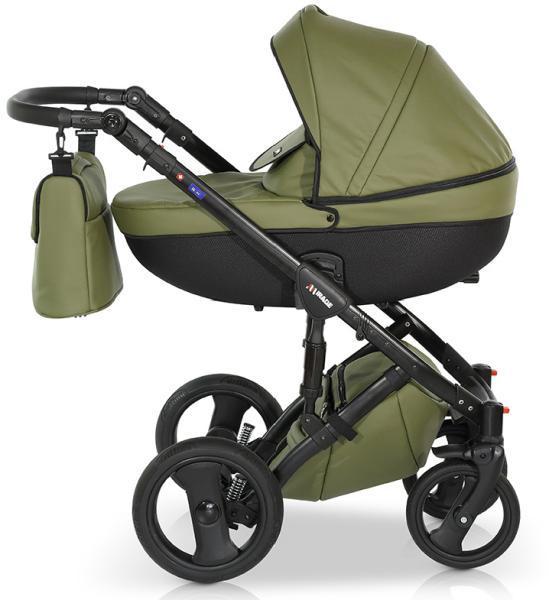 Коляска Verdi Mirage Eco Premium 3 в 1 зеленый