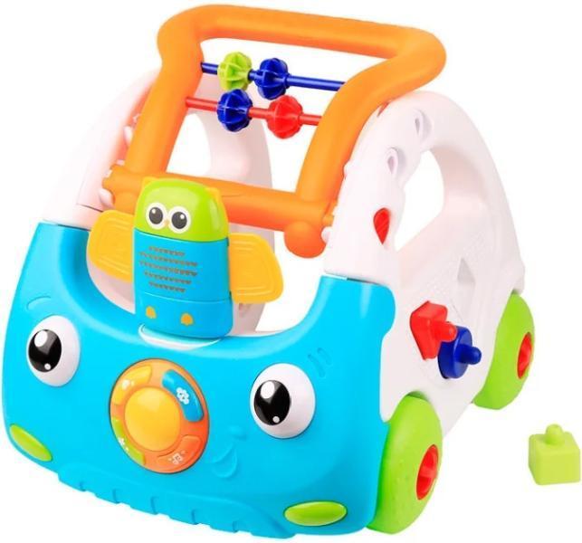 Каталка Happy Baby BOGGI многоцветный