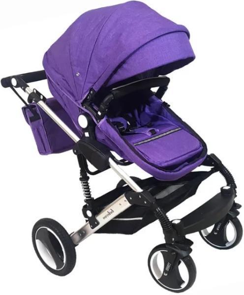 Коляска Барс 3102 фиолетовый