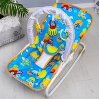 Шезлонг - качалка для новорождённых 'Транспорт', игровая дуга, игрушки МИКС