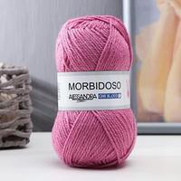 Пряжа 'Morbidoso' 50 шерсть, 50 акрил 145м/50гр (314 брусника)
