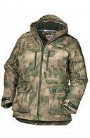 Куртка мужская демисезонная ОКРУГ Тувалык -15°C (ткань алова, кмф.зеленый), размер 56