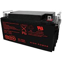 Аккумулятор WBR GP 12650, напряжение 12 В и ёмкость 65 Ач