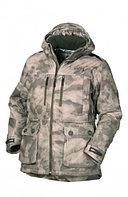 Куртка мужская демисезонная ОКРУГ Тувалык -15°C (ткань алова, кмф.коричневый), размер 50